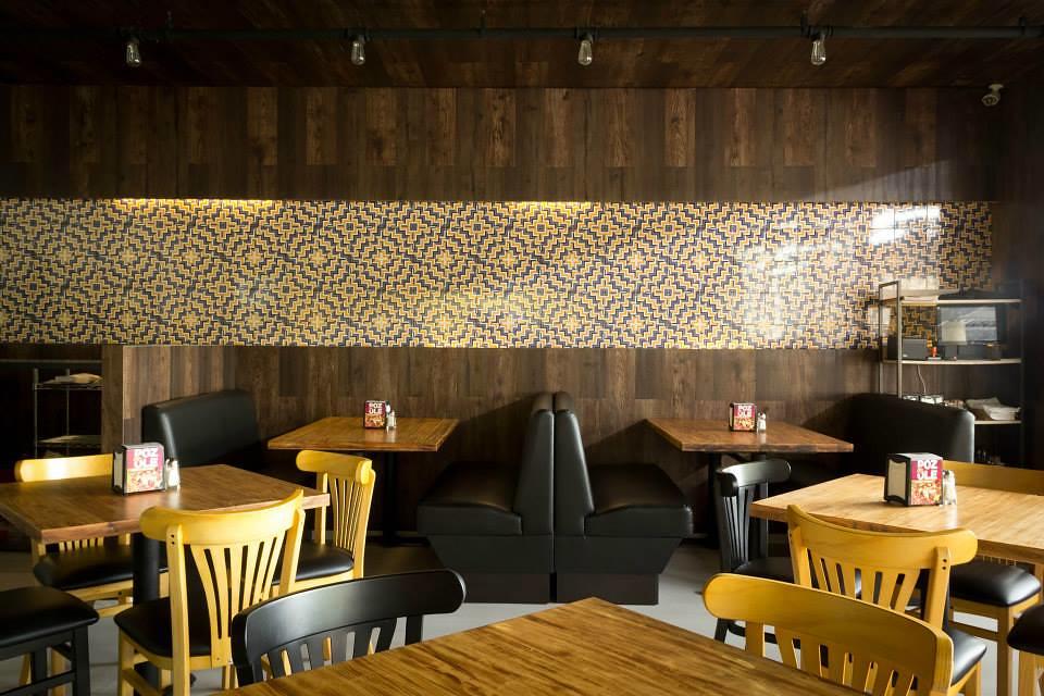 Interiorismo en restaurantes taquera espacios vives for Interiorismo restaurantes