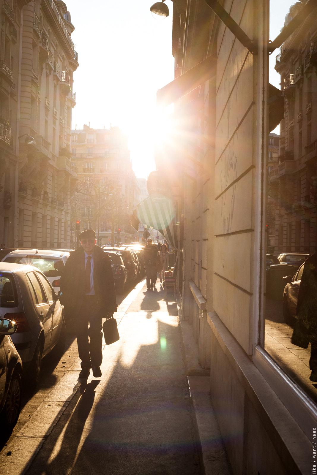 Sunset, Rue d'Estrées