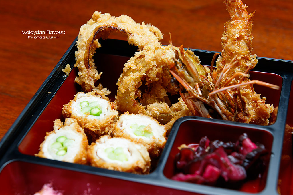 Tonkatsu by Wa Kitchen Pavillion KL bento
