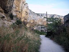 Camino amurallado