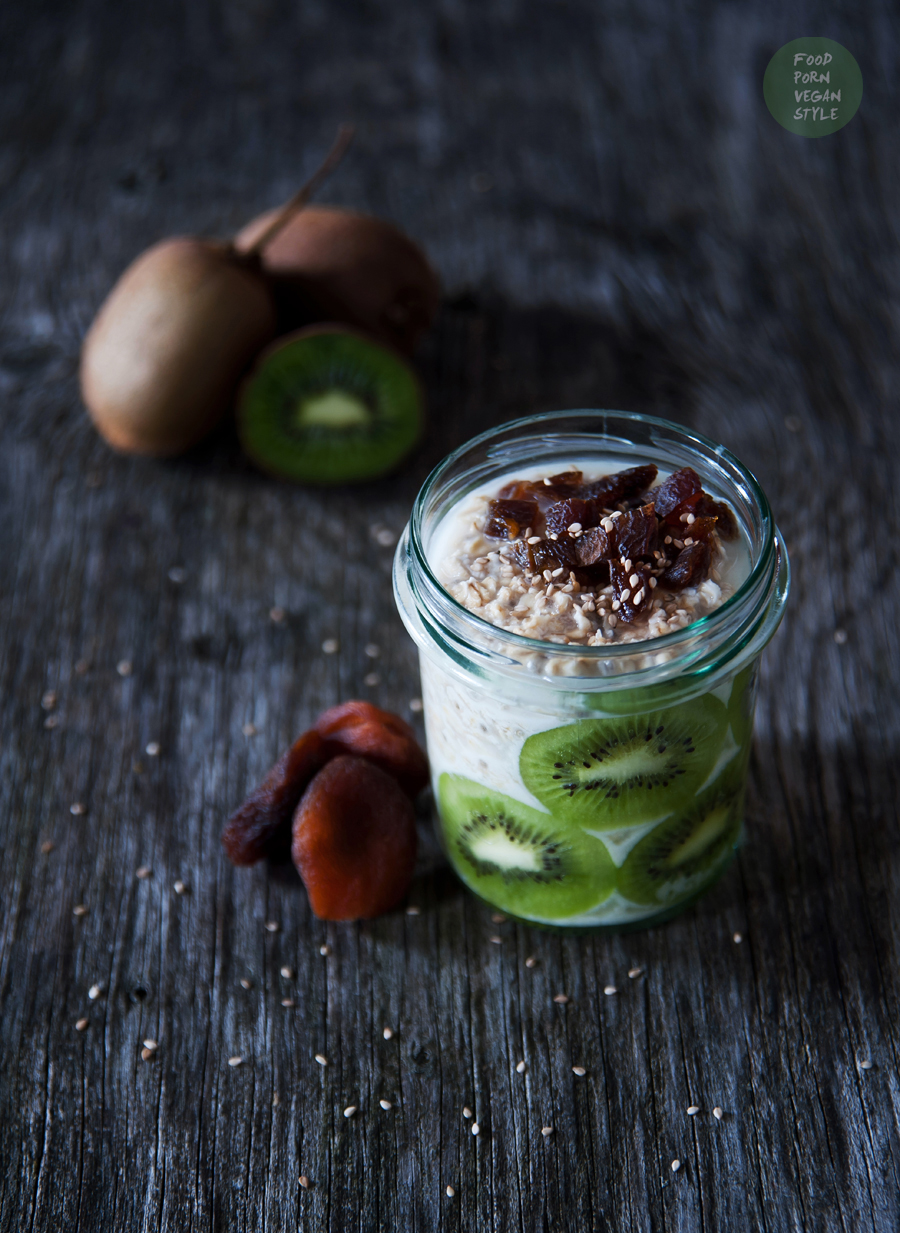 Vegan Daily Menu # 2 bircher muesli