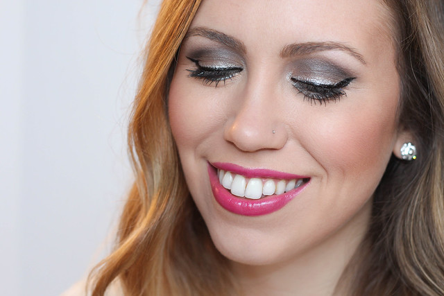 Glitter Eye Makeup for New Year's Eve | Beauty