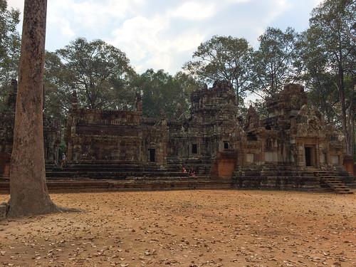 Angkor: le temple Chau Say Tevoda