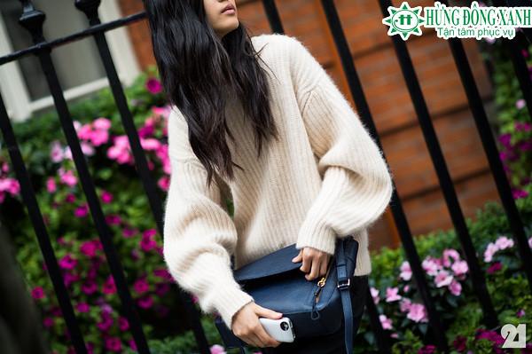 thời trang áo len khi du học ở Châu Âu