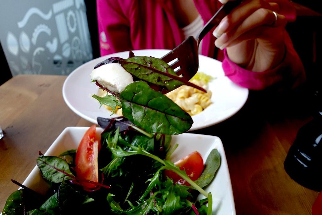 Tomato, Buffalo Mozzrella and Rocket Salad, Pasta Remoli, Finsbury Park
