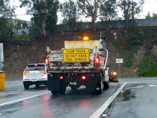 plows keeping roads clear of rocks