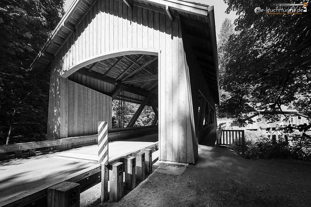 Covered Bridge and Cedar Greek Grist Mill