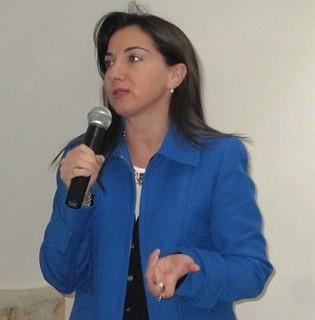 L'assessore alle Politiche Sociali e all'Istruzione Anna Ancona