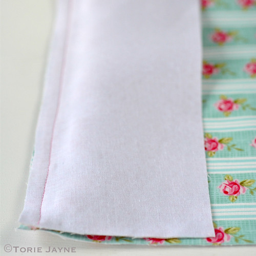 Pretty tote sewing tutorial 4