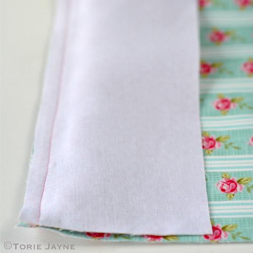 Pretty tote sewing tutorial 4