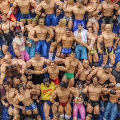 It's a He-Man kind of day. Here's a bunch of muscle bound dudes on display at the Mile High Flea Market in Denver, CO.   #colorado #coloradolife #coloradolive #photooftheday #fleamarket #muscles #workout #igerscolorado #denver #canon_photos #canon #canon6