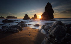 Rodeo Beach, Sunset