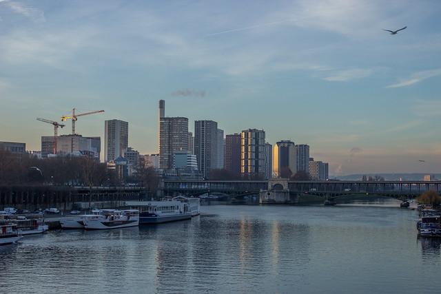Sunrise Paris