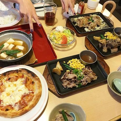 ジョイフルでガッツリ!! #japan #japanese #japanesefood #dinner