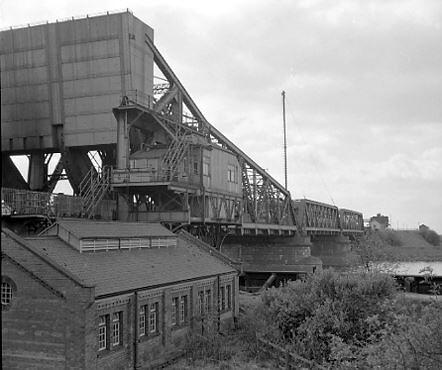 Keadby Bridge showing Power House