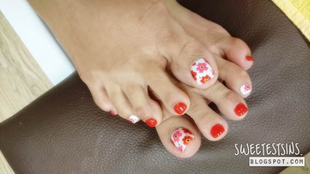 bejeweled nails gelish pedicure