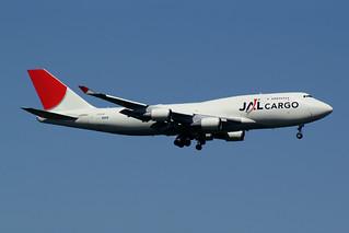Japan Airlines - JAL Cargo Boeing 747-446(BCF) JA8902