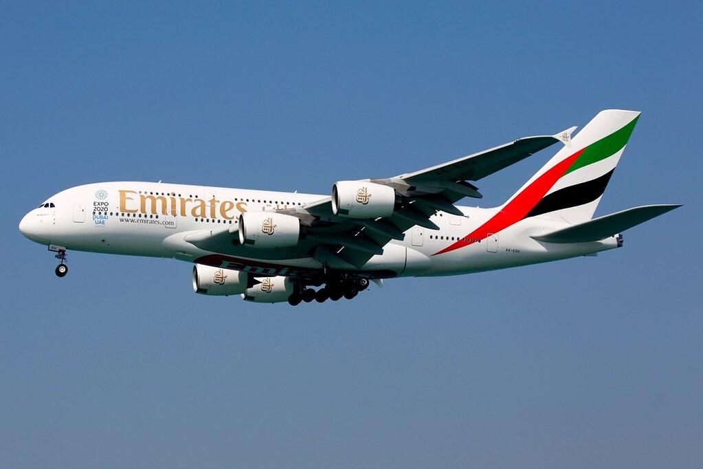 A6-EOU - A388 - Emirates