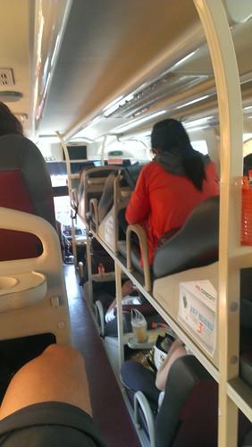 Bus mit Schlafsitzen