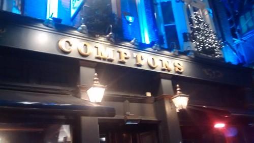 Comptons, Soho Jan 16