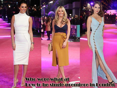 Who wore what at How to be single premiere in London