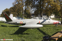 458 5-MF - 458 - French Air Force - Fouga CM-170R Magister - Polish Aviation Musuem - Krakow, Poland - 151010 - Steven Gray - IMG_9629
