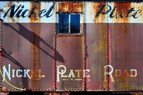 old railroad ny newyork car metal train paint side hamburg rusty railway historic caboose depot nickelplate etbtsy