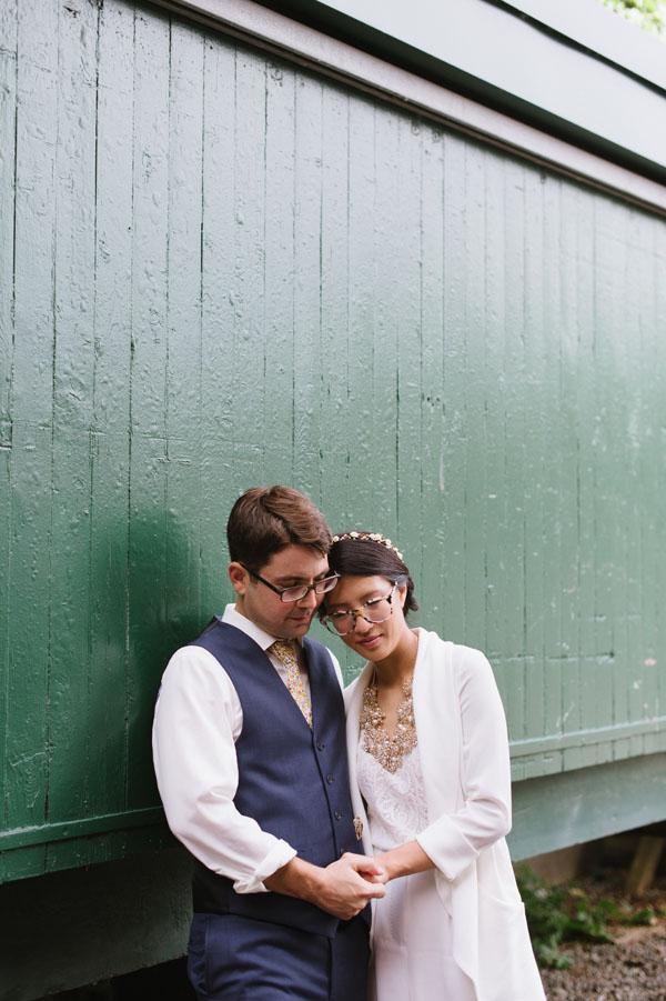 Celine Kim Photography KM Intimate restaurant Cluny Bistro Distillery District Toronto summer wedding-36