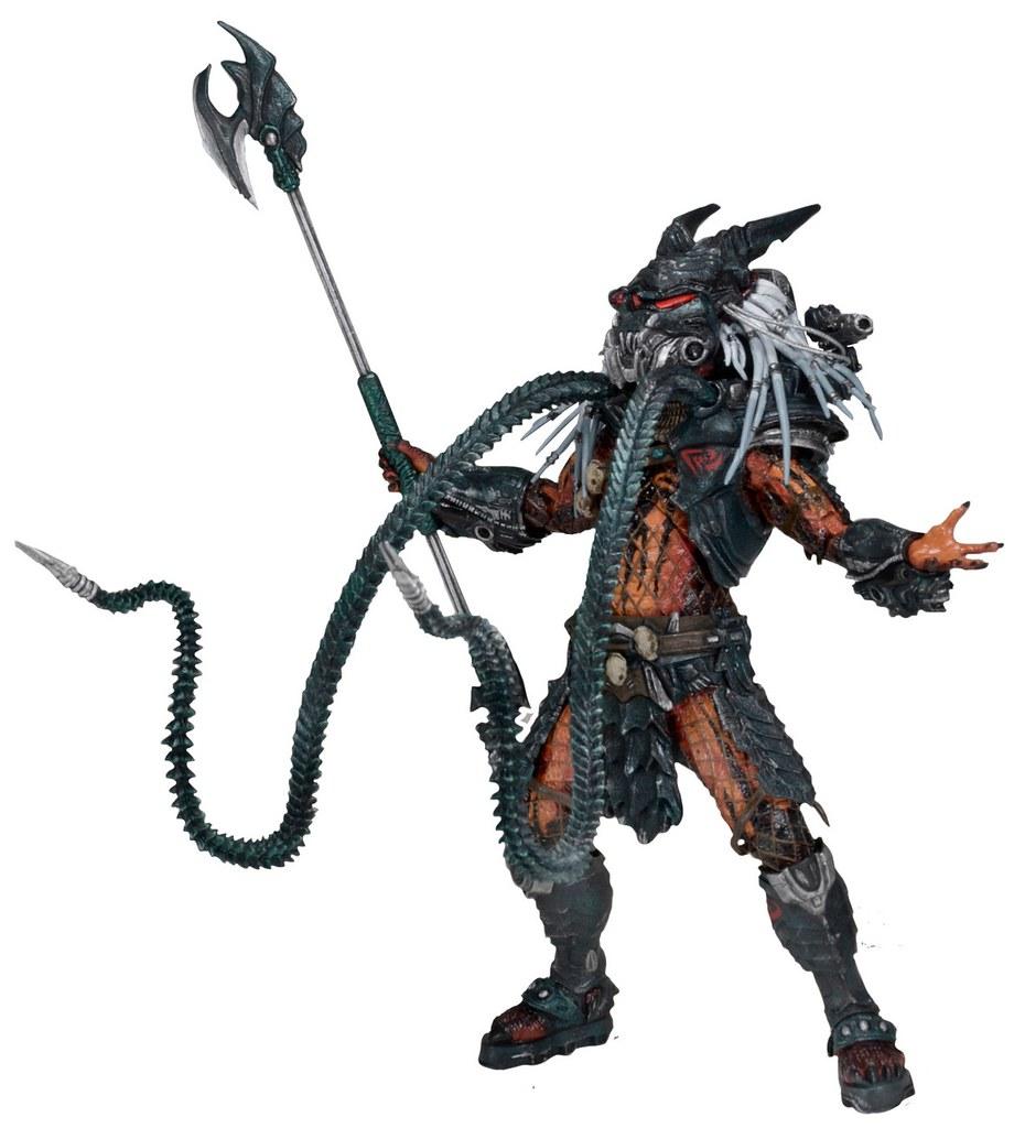 NECA – 終極戰士系列【部落領袖:豪華組合包】Deluxe Predator Clan Leader 7 吋人偶作品