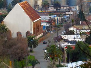Calle Las Heras de lejos