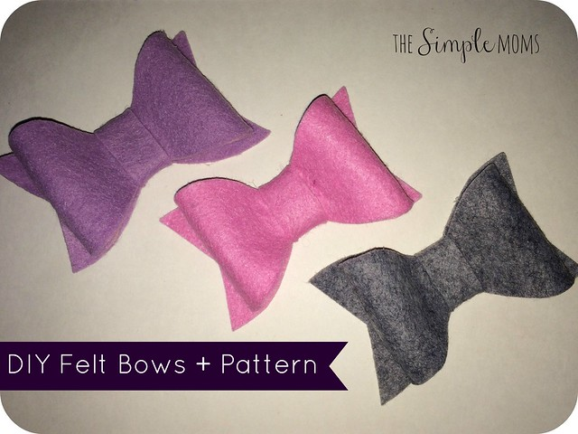 Diy felt bows printable pattern tutorial the simple moms diy felt bows printable pattern tutorial pronofoot35fo Image collections