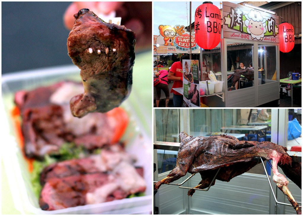 Malacca Food Guide: Jonker Street Night Market BBQ Lamb Stall