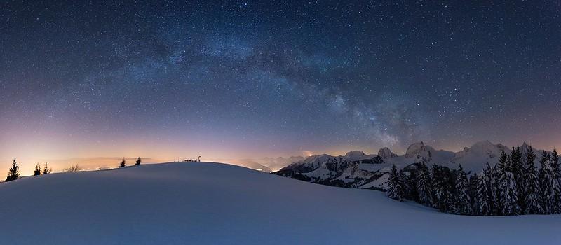 Star panorama - Gurnigel