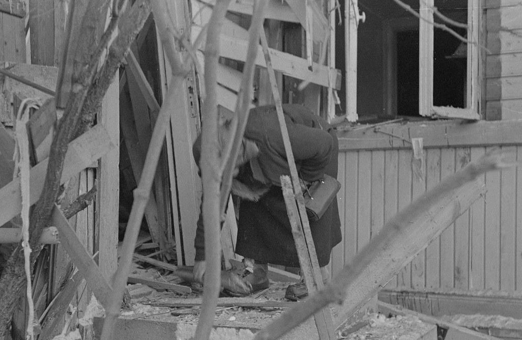 Последствия бомбёжек 1940.01.20 08