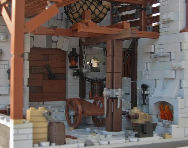Blacksmith Shop (interior)