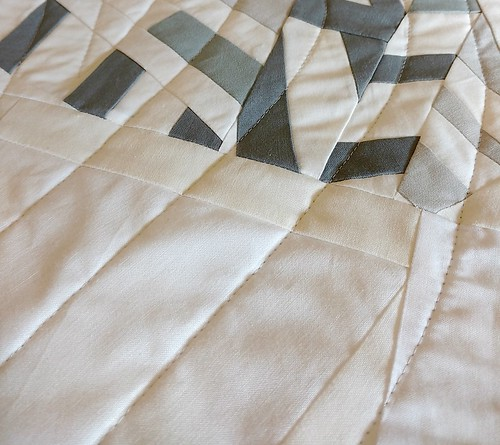 Winter quilt, quilting