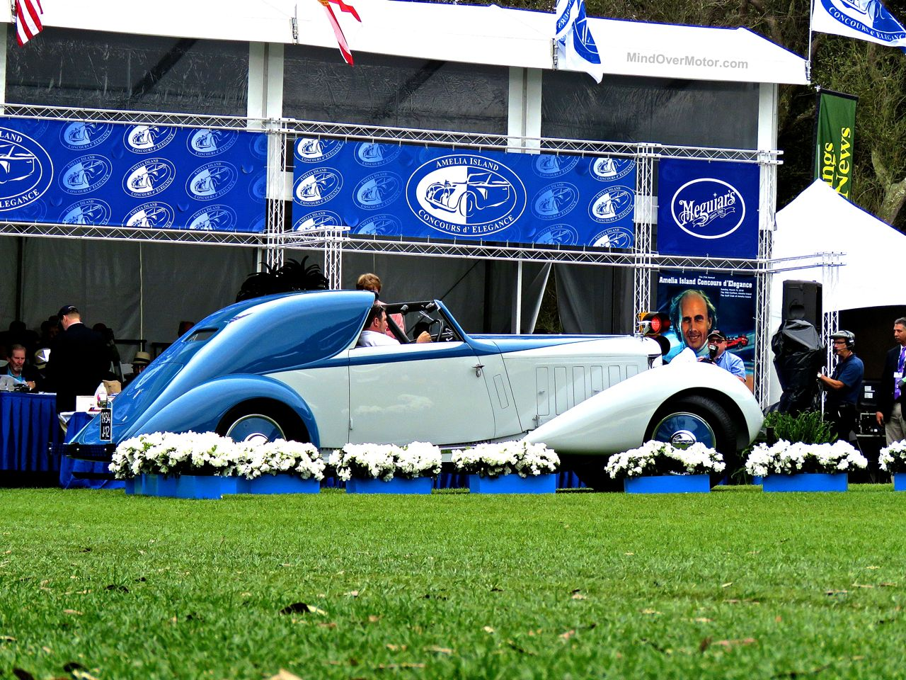 Amelia Island Concours Hispano-Suiza J12 Sedanca Coupe