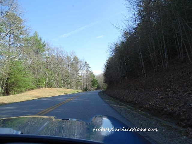 Blue Ridge Parkway drive March 2016 ~ From My Carolina Home