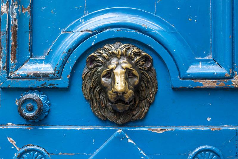 Blue Door, Le Marais