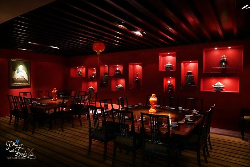 noble swissotel nai lert park red interior