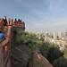 Castle Hidalgo atop Santa Lucia Hill in Santiago de Chile