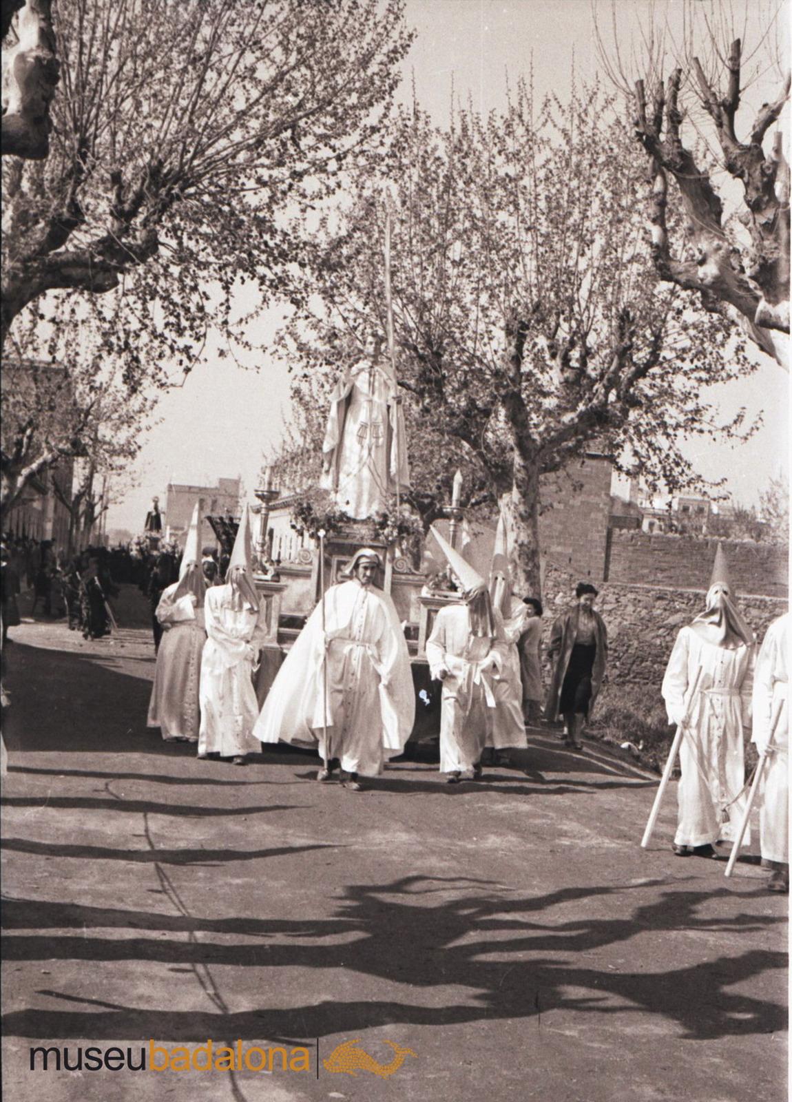 La processó de Divendres Sant de l'any 1954