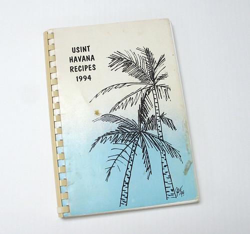 "Book, ""USINT Havana Recipes 1994"""