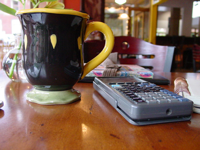 Coffee & Calculator