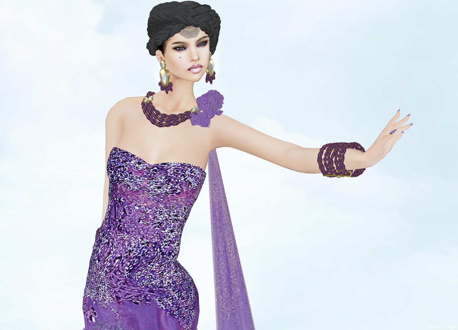 Sascha's Designs - Purple Rain