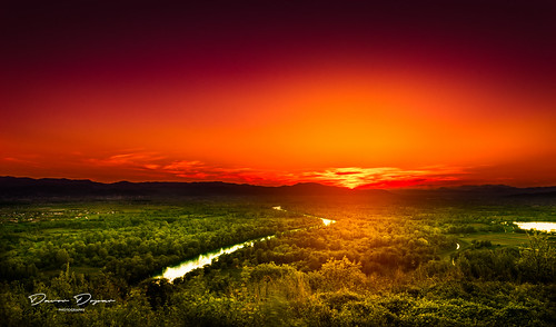 road travel sunset sky panorama sunlight mountain nature grass river landscape spring colorful purple croatia zagreb distance isolated hillview zapresic