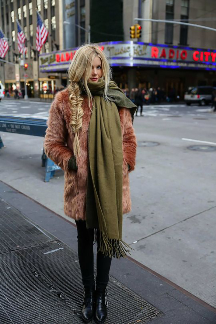 Faux Fur Coats Outfits style inspiration streetstyle6