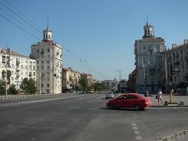Прощання з проспектом Леніна
