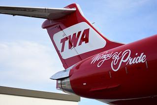 TWA Wings of Pride Tail