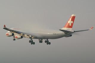 Swiss International Air Lines Airbus A340-313 HB-JME